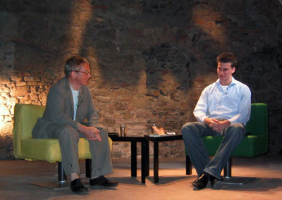 Oswald Metzger und Leif Schubert
