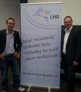 Nils H. Ullrich und Prof. Dr. Lars Feld