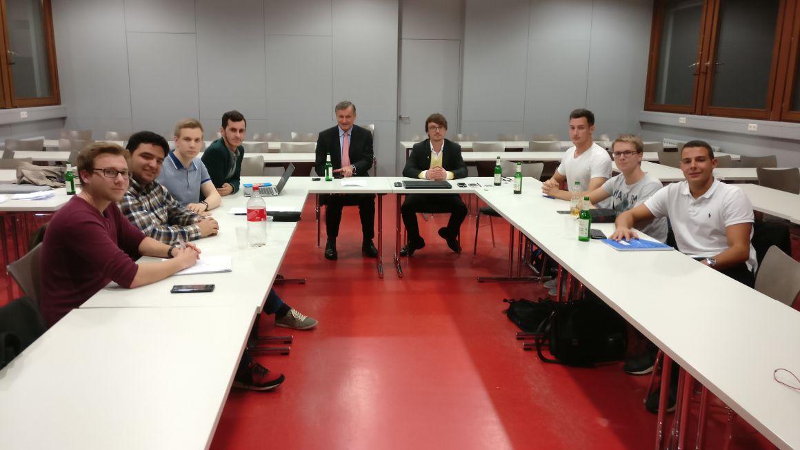 Konstituierende Sitzung der neuen LHG Pforzheim