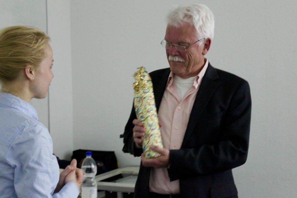 Victoria und Prof. Dr. Gehrke