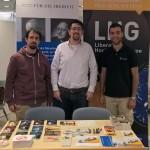 v. l. Mark Dornbach, Alexander Schopf, Anas Tighilt (Gast)