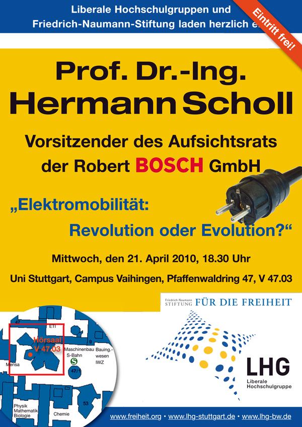 LHG-BW: Veranstaltung mit Prof. Dr.-Ing. Hermann Scholl