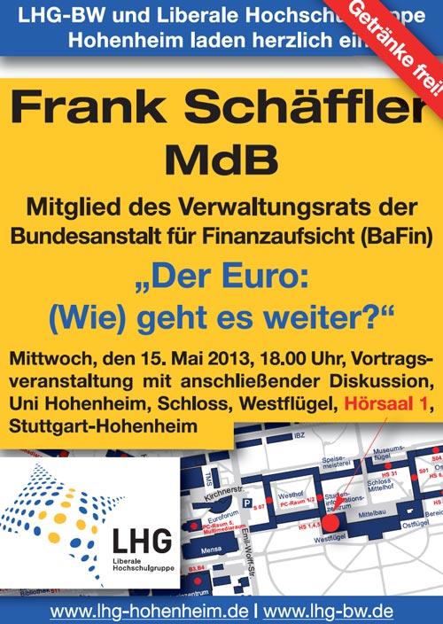Veranstaltung mit Frank Schäffler MdB