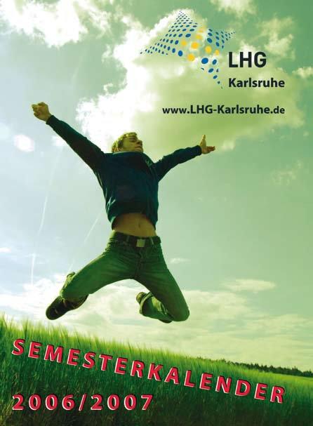 Semesterkalender Karlsruhe