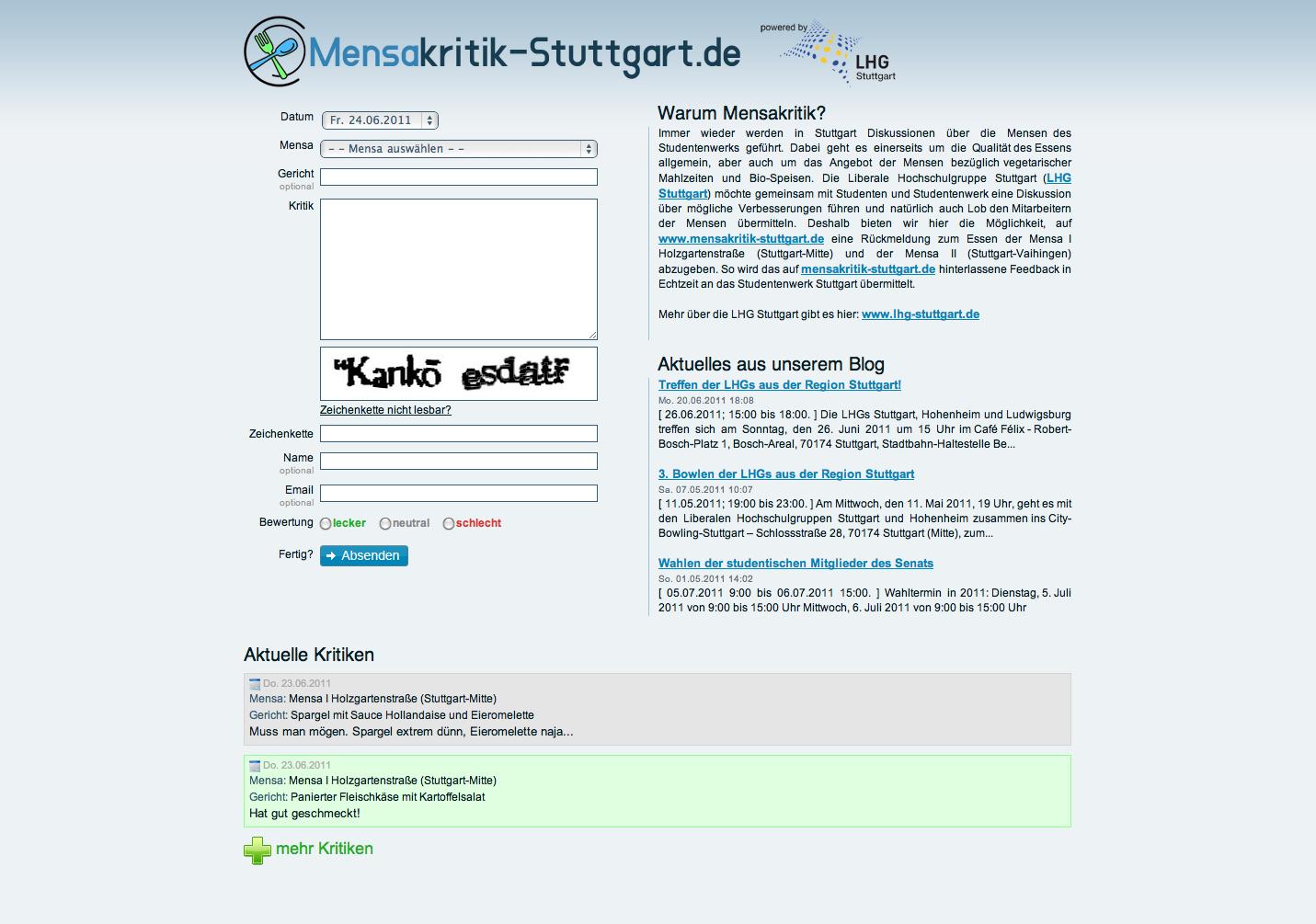 Mensakritik-Stuttgart.de